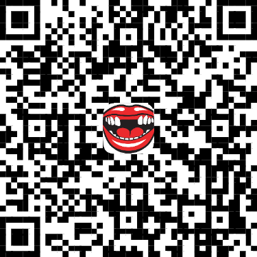 QR Code for No Teeth Facebook effect