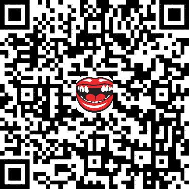 QR Code for No Teeth Facebook effect