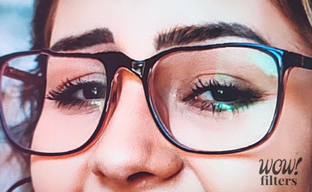 Not glasses friendly Instagram effect