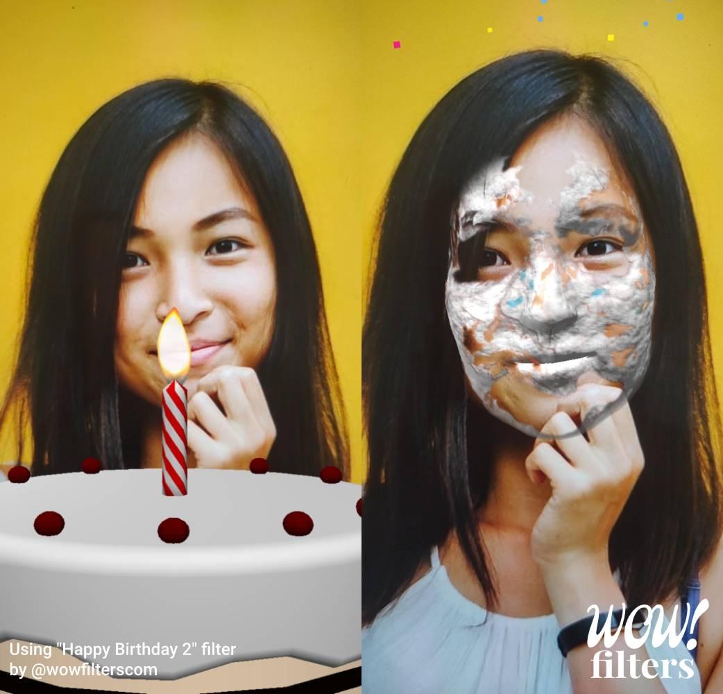 Happy Birthday 2 Instagram filter