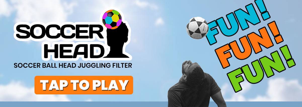 Soccer Head Juggling Instagram filter