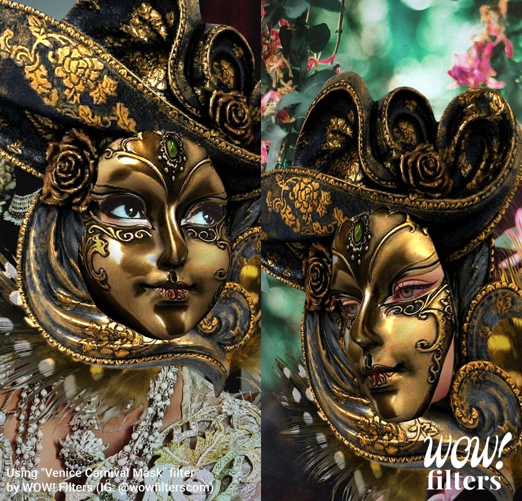 Venice Carnival Instagram mask